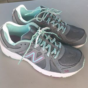💿New Balance 402 teal and purple shoes💿